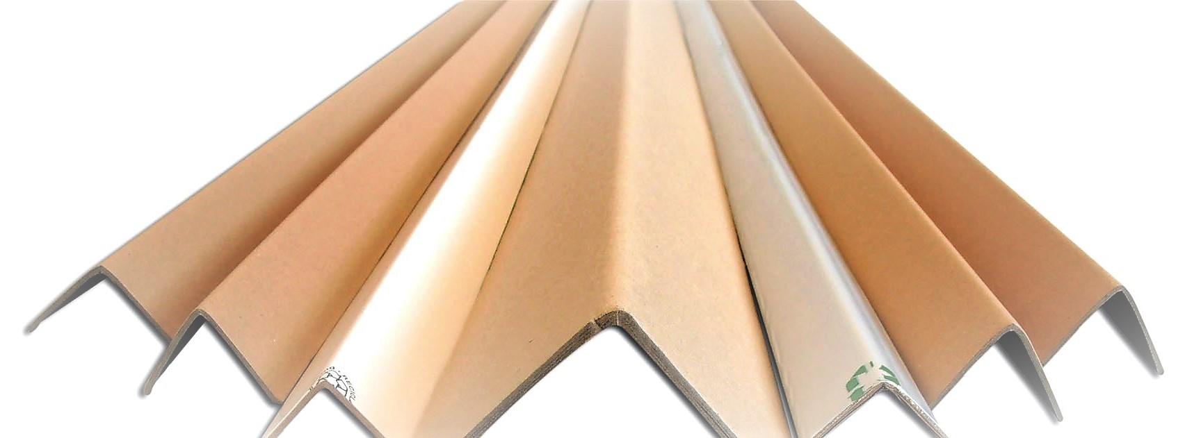 Cornières carton pour palettes